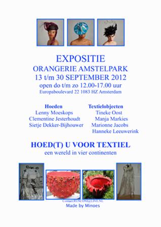 flyer expositie Amstelpark
